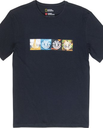 4 Horizontal Seasons - T-Shirt Black Q1SSG2ELF9 Element