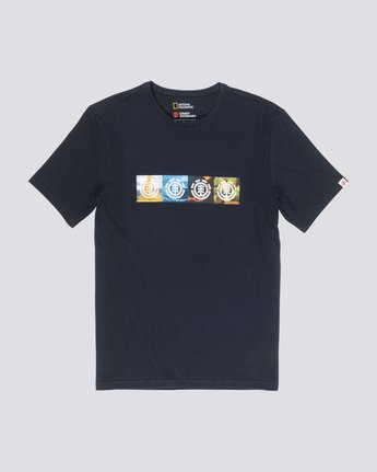 3 Horizontal Seasons - T-Shirt Black Q1SSG2ELF9 Element