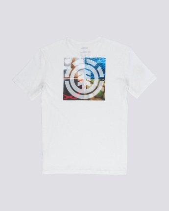 4 Quadrant Seasons - T-Shirt White Q1SSG3ELF9 Element