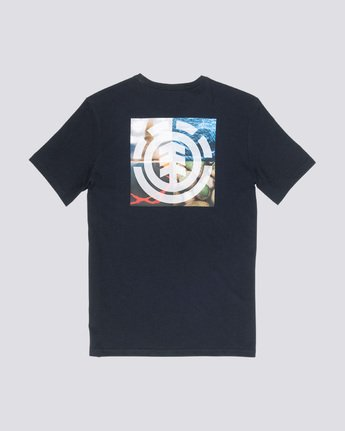 4 Quadrant Seasons - T-Shirt Black Q1SSG3ELF9 Element