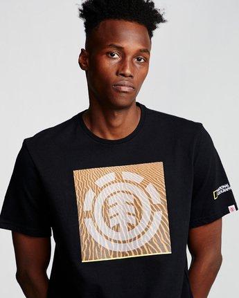 1 Dunes Icon - T-Shirt Black Q1SSG4ELF9 Element