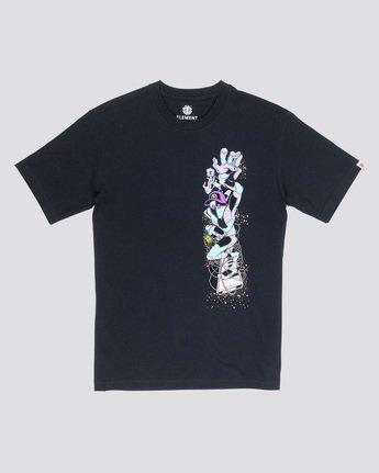 3 Barbee - T-Shirt Black Q1SSG9ELF9 Element