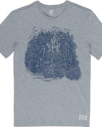 4 Howl - T-Shirt für Männer Grau Q1SSH5ELF9 Element