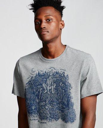1 Howl - T-Shirt für Männer Grau Q1SSH5ELF9 Element