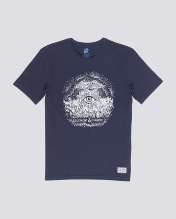 3 Too Late Stump - Maglietta da Uomo Blue Q1SSH6ELF9 Element
