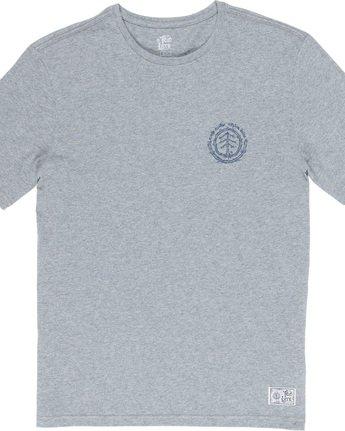 5 Too Late Logo - T-Shirt Grey Q1SSH9ELF9 Element