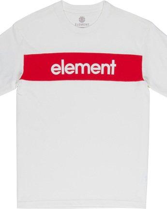 4 Primo Flag - T-Shirt White Q1SSI2ELF9 Element