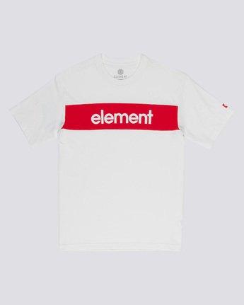 3 Primo Flag - T-Shirt White Q1SSI2ELF9 Element