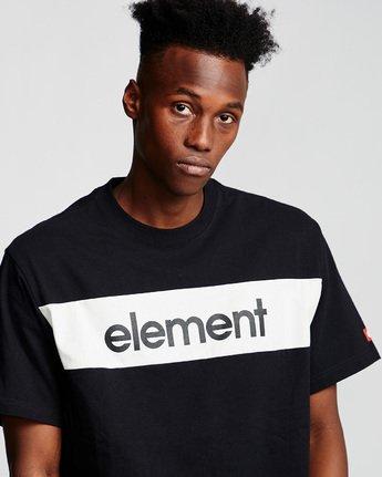 1 Primo Flag - Maglietta da Uomo Black Q1SSI2ELF9 Element