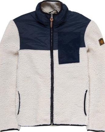 5 Abenaki Warm - Sweat zippé pour Homme Blanc Q1WAA4ELF9 Element
