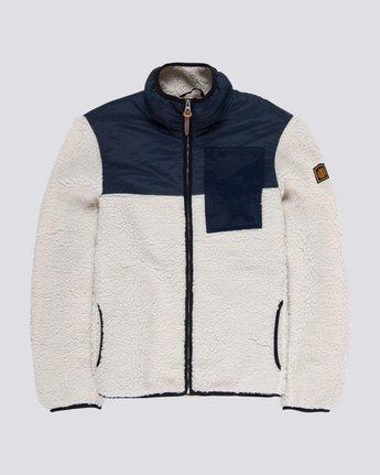 4 Abenaki Warm - Sweat zippé pour Homme Blanc Q1WAA4ELF9 Element