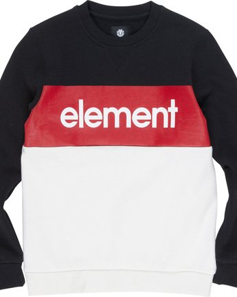 1 Primo Boy - Sweatshirt Black Q2CRA2ELF9 Element