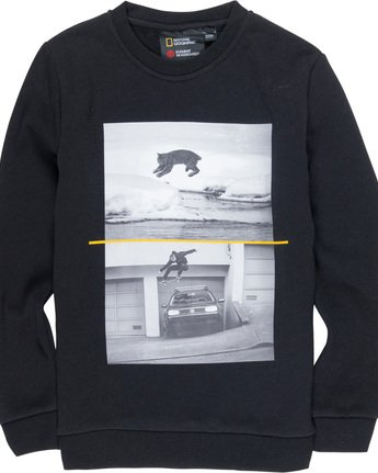 1 Bobcat Westgate Boy - Sweatshirt Black Q2CRA3ELF9 Element