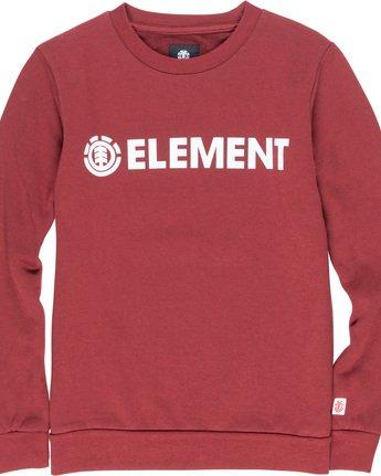 1 Blazin Boy - Sweatshirt Red Q2CRA5ELF9 Element