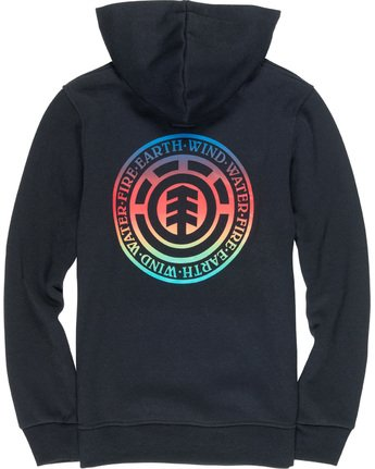 3 Seal Gradient Boy - Hoodie Black Q2HOA8ELF9 Element