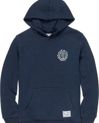 2 Too Late Logo Boy - Sweatshirt Blue Q2HOB1ELF9 Element