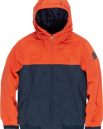 1 Dulcey 2Tones Boy - Hooded Jacket Orange Q2JKA1ELF9 Element