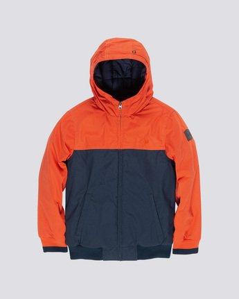 0 Dulcey 2Tones Boy - Hooded Jacket Orange Q2JKA1ELF9 Element