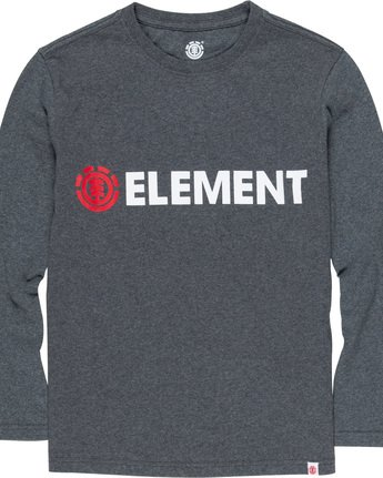 1 Blazin Boy - Long Sleeve T-Shirt Grey Q2LSA3ELF9 Element