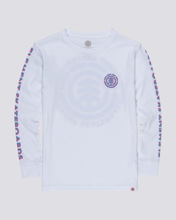 0 Chrome Boy - Long Sleeve T-Shirt White Q2LSA6ELF9 Element