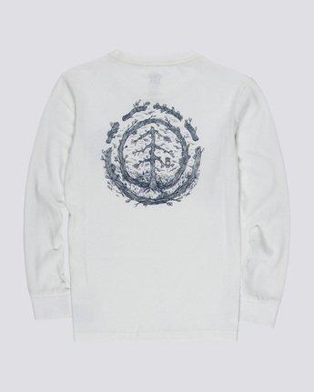 1 Too Late Logo Boy - Long Sleeve T-Shirt White Q2LSB5ELF9 Element