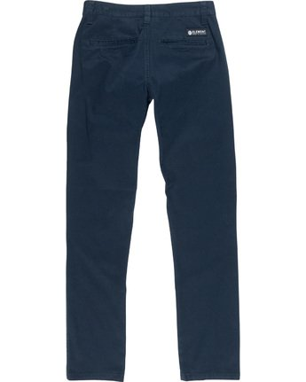 3 Howland Classic Boy - Chinos Blue Q2PTA2ELF9 Element