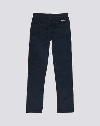 1 Howland Classic Boy - Chinos Blue Q2PTA2ELF9 Element