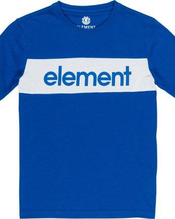 1 Primo Flag Boy - T-Shirt Blue Q2SSA2ELF9 Element