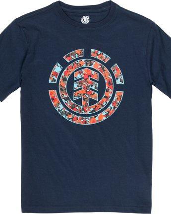 1 Multi Icon Boy - Camiseta para Chicos Azul Q2SSA6ELF9 Element