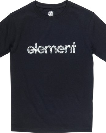 1 Verse Boy - T-Shirt Black Q2SSB1ELF9 Element