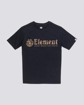 0 Scope Boy - Camiseta para Chicos Negro Q2SSB2ELF9 Element