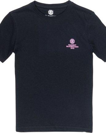 2 Chrome Boy - T-Shirt Black Q2SSB3ELF9 Element