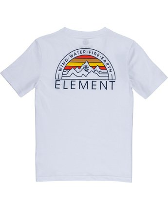 3 Odyssey Boy - T-Shirt White Q2SSB5ELF9 Element