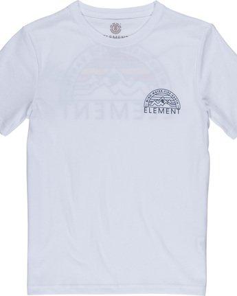 2 Odyssey Boy - T-Shirt White Q2SSB5ELF9 Element