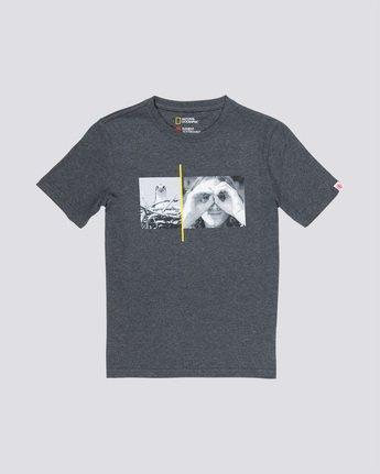 0 Hawk Smith Boy - T-Shirt Grey Q2SSC5ELF9 Element