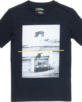1 Bobcat Westgate Boy - T-Shirt Black Q2SSC6ELF9 Element