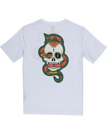 3 Abyss Boy - T-Shirt White Q2SSD3ELF9 Element