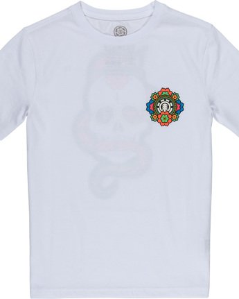 2 Abyss Boy - T-Shirt White Q2SSD3ELF9 Element