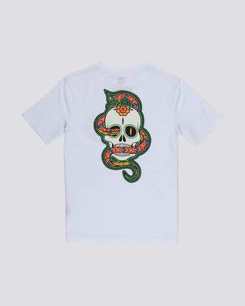 1 Abyss Boy - T-Shirt White Q2SSD3ELF9 Element