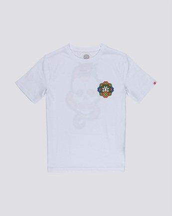 0 Abyss Boy - T-Shirt White Q2SSD3ELF9 Element