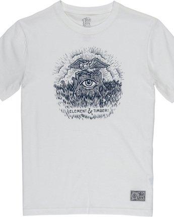 1 Too Late Stump Boy - T-Shirt White Q2SSD6ELF9 Element