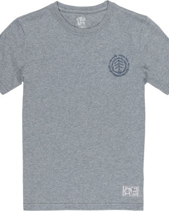 2 Too Late Logo Boy - T-Shirt Grey Q2SSD8ELF9 Element