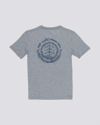 1 Too Late Logo Boy - T-Shirt Grey Q2SSD8ELF9 Element