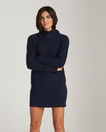 Delta - Turtleneck Jumper Dress  Q3DRA5ELF9