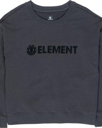 1 Logo - Sweatshirt Black Q3FLA1ELF9 Element