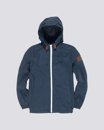 2 Home Free - Hooded Jacket Blue Q3JKA1ELF9 Element