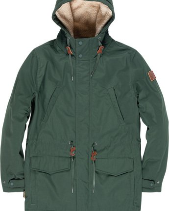 1 Roghan - Parka Green Q3JKA2ELF9 Element