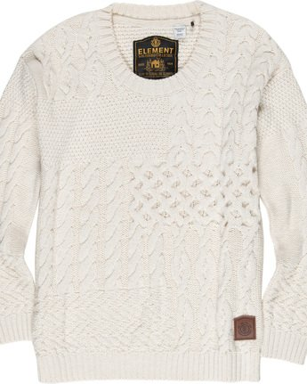 1 Achille - Jumper Beige Q3JPA4ELF9 Element