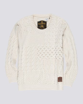0 Achille - Jumper Beige Q3JPA4ELF9 Element