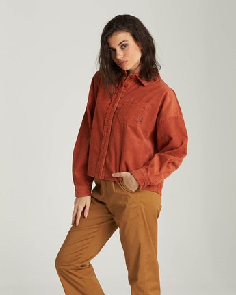 Back In Town - Corduroy Shirt  Q3SHA1ELF9